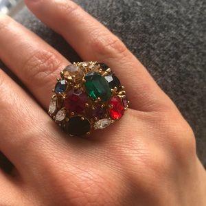 Multi Stone Set Ring, 5.5
